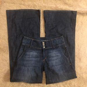 HUDSON sexy Wide-leg long Jeans